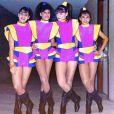 As Angelicats começaram no 'Clube da Criança' em 1989 e fizeram sucesso na TV ao lado de Angélica