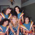 Angélica ao lado das Angelicats Marcella Bordallo, Julia Limaverde, Elaine Peneiras e Gabriela Prado