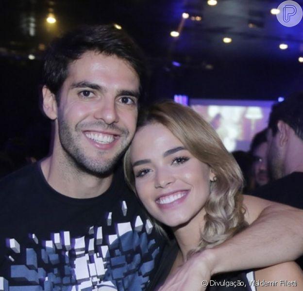 Kaká anunciou noivado com a modelo Carol Dias neste sábado, 5 de janeiro de 2019: 'Me fez o homem mais feliz da terra!'