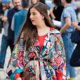 O kimono pode aparecer megaestampado e com um cinto na cintura