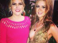 4c3a179de0a Marina Ruy Barbosa vai glamourosa com colar de brilhante a festa de gala  nos EUA