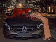 Grávida, Gabi Brandt faz 23 anos e noivo a surpreende com carro de R$ 160 mil