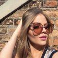 Óculos de sol com armações grandes e estilo gatinho são aposta de Luísa Sonza
