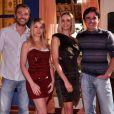 Caio Junqueira foi par romântico de Bianca Rinaldi na novela 'Ribeirão do Tempo' (2010) na RecordTV