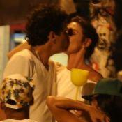 Glenda Kozlowski e marido, Luis Tepedino, trocam beijos em point carioca. Fotos!