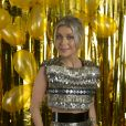 ' Sim, estou grávida, e explodindo de felicidade! ', comemorou Luiza Possi