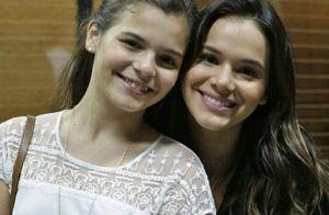 Irmã de 16 anos de Bruna Marquezine, Luana está namorando e atriz aprova. Veja!