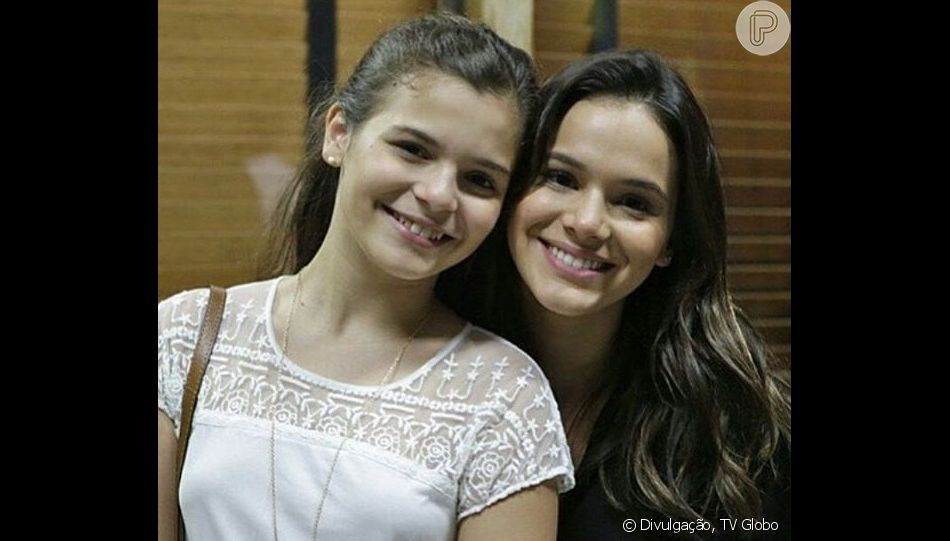 Irmã cacula de Bruna Marquezine, Luana está namorando