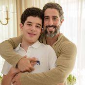 Mion destaca aprendizado com adolescência do filho autista: 'Intensidade única'