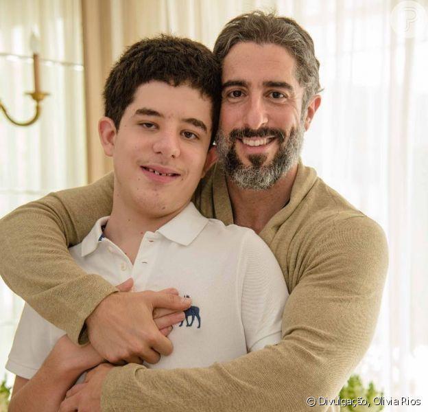 Marcos Mion destaca aprendizado com adolescência do filho autista em postagem nesta quarta-feira, dia 30 de janeiro de 2019