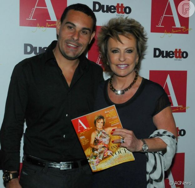 Ana Maria Braga e Marcelo Frisoni voltam a namorar: 'Sempre se gostaram'