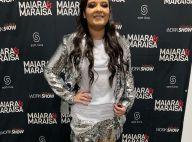 Maiara usa conjunto de paetês e bota metalizada em show: 'Autoestima lá em cima'