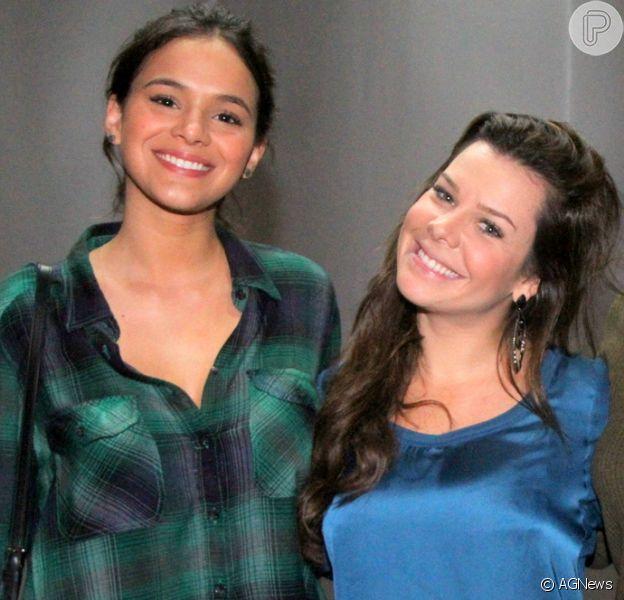 Fã cria vídeo da amizade de Bruna Marquezine e Fernanda Souza