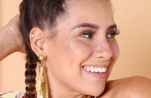 Boxer braids com glitter: um tutorial glam para você fazer no Carnaval!