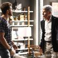 Cláudio (José Mayer) pede para ter uma conversa com Leonardo (Klebber Toledo) em 'Império'