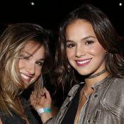 Amigas inseparáveis! Bruna Marquezine tem dia de beleza com Sasha nos EUA