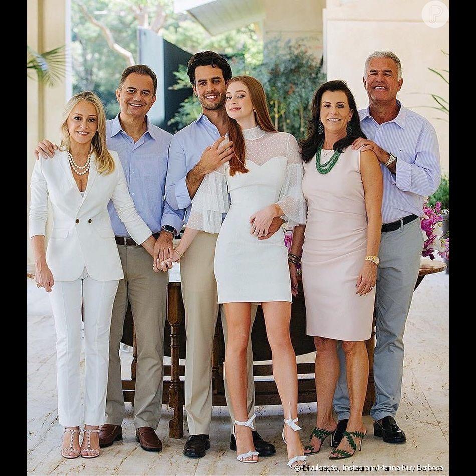 Marina Ruy Barbosa é apoiada pela mãe do marido após polêmica com José  Loreto em comentário f1299e68c4