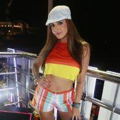 Gio Lancellotti usa look de clipe de Anitta em Salvador: 'Confundiram a gente'
