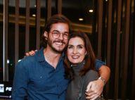 Fátima Bernardes exibe leque com foto de Túlio Gadêlha e fã elogia: 'Muito amor'