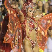 Borboleta de Oyá! Vivi Araujo brilha com asas flexíveis e mais de 1m de cabelo