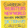 Katy Perry escolheu o exemplar 'Websters NewWorld'