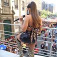 O look de Anitta no Bloco das Poderosas, em 9 de março de 2019