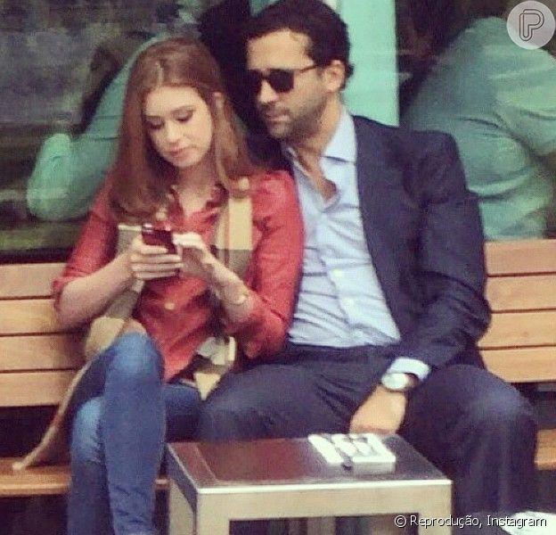 Marina Ruy Barbosa assumiu o namoro com o empresário Caio Nabuco, 14 anos mais velho do que ela. 'A diferença de idade não é um problema para eles', afirma um amigo do casal