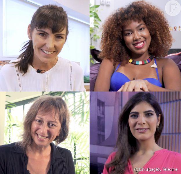 Mulheres Fazem Cinema: Glenda Kozlowski, Lellezinha, Laís Bodanzky e Andrea Saddi deram suas versões de histórias dignas de cinema ao Telecine