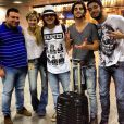 Fiuk curtiu o Carnaval com Sophia Abrahão e outros amigos, em Salvador