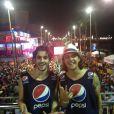 Fiuk se diverte no Carnaval de Salvador com Guilherme Boury