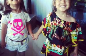 Antônia e Sofia, gêmeas de Giovanna Antonelli, completam 4 anos. Veja fotos!