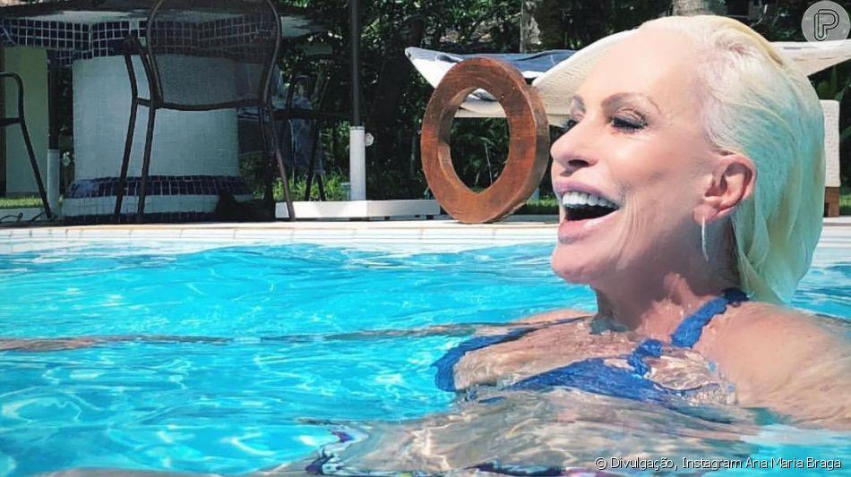 A apresentadora do 'Mais Você', Ana Maria Braga, está completando 70 anos nesta segunda-feira (1) e é motivo de inspiração para muitas mulheres.