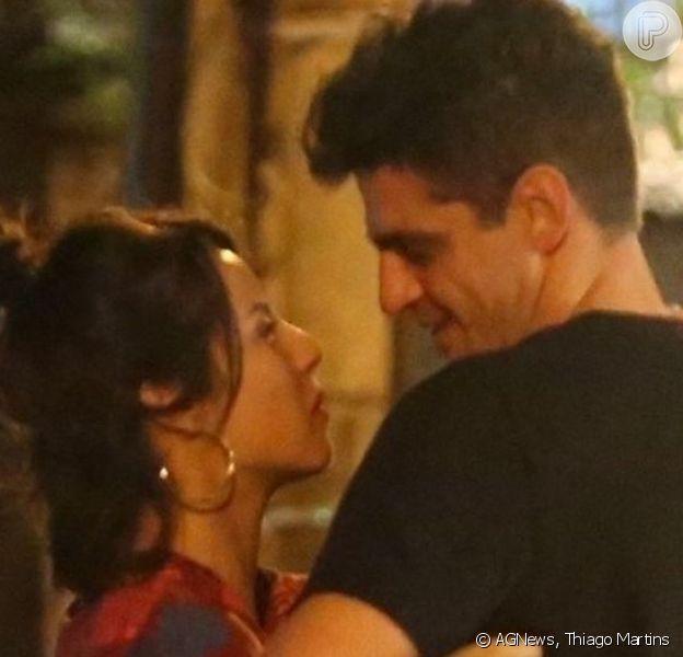 Andréia Horta estaria namorando com o ator Julio Machado, que está escalado para a próxima temporada de 'Malhação'
