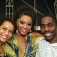 Taís Araújo é fã da Unidos da Tijuca, que tem Juliana Alves como Rainha de Bateria