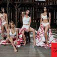 As irmãs Kardashian posaram juntas para um catálogo da Calvin Klein