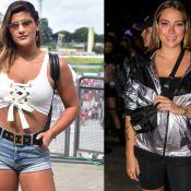 Carol Dantas grávida e Giulia Costa solteira: famosas no 2º dia do Lollapalooza
