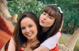 Larissa Manoela posa com Sophia Valverde e semelhança surpreende: 'Irmãs'