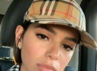 Bruna Marquezine usa boné de R$1.533 e trend da Burberry no Coachella. Veja look