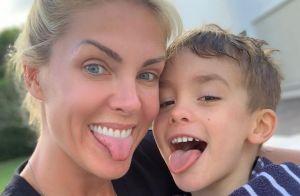 Internauta chama filho de Ana Hickmann de mimado e artista pede: 'Mais amor'