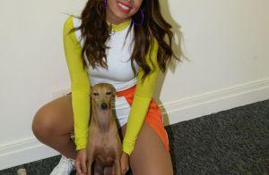 Anitta conta que seu cachorro Afonso morreu: 'Vontade de não voltar pra casa'