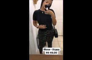 Suzanna Freitas evita usar calça cintura baixa: 'Me deixa com quadril grande'