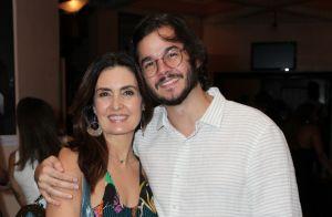 Fátima Bernardes e Túlio Gadêlha conferem peça de Ícaro Silva no Rio: 'Incrível'