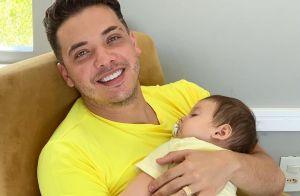 Wesley Safadão combina looks com os filhos,Yhudy e Dom, para festa: 'Parecidos'