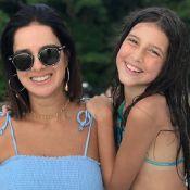 Filha youtuber de Vera Viel zoa mãe por semelhança com Marquezine: 'Até eu acho'