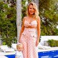 Eliana posou com a filha, Manuela, de 1 ano, fruto do relacionamento com Adriano Ricco