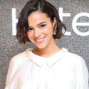 Bruna Marquezine ouve 'É o Amor' em festa vizinha e brinca: 'Vontade de sofrer'