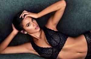 'Juro que é maquiagem', explica Marquezine sobre efeito em fotos de lingerie