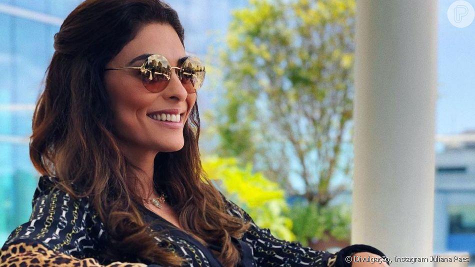 Juliana Paes agradou ao cantar 'Evidências', cumprindo desafio de Reynaldo Gianecchini: 'The Voice está perdendo'