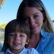 Luma Costa relata redução de leite após acidente com filho: 'Fraturou o punho'