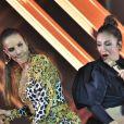 Ivete Sangalo e Claudia Leitte brincaram durante show em Olinda, na madrugada deste domingo, 19 de maio de 2019